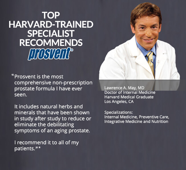 Top Harvard-Trained Specialist Recommends Prosvent